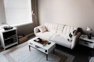 upholstered office sofa